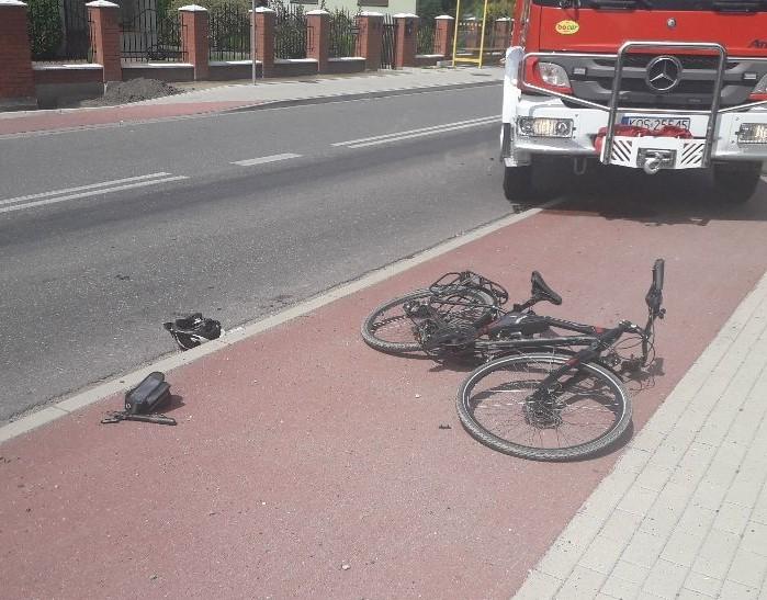 44-letni bielszczanin poważnie ranny w wypadku