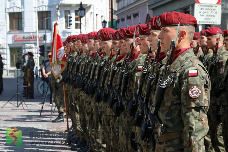 Tak w Bielsku-Białej obchodzone będzie Święto Wojska Polskiego