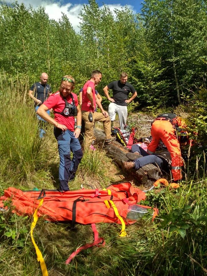 20 wypadków w górach w sierpniowy długi weekend