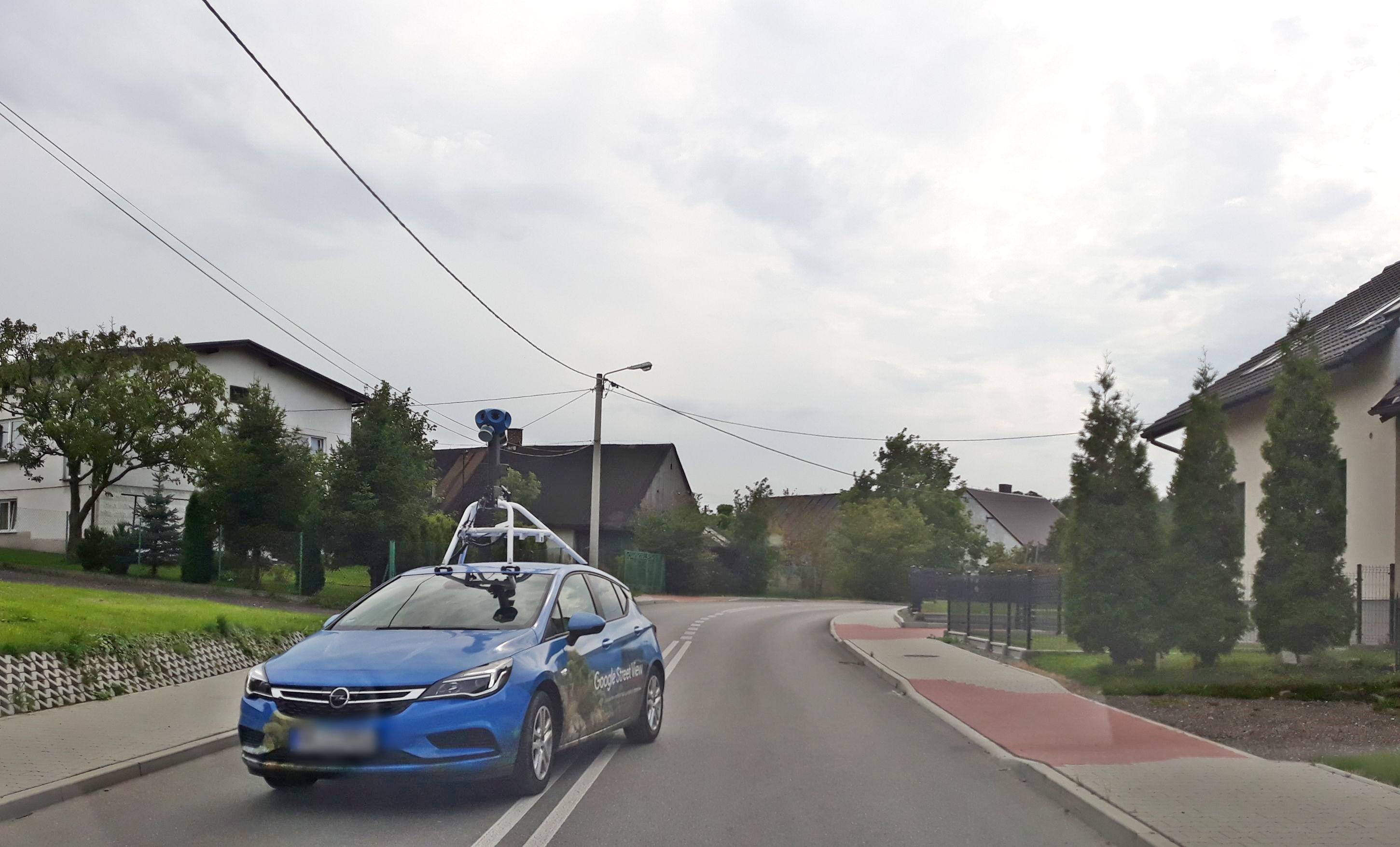 Po Bielsku-Białej i okolicach ponownie krąży samochód Google