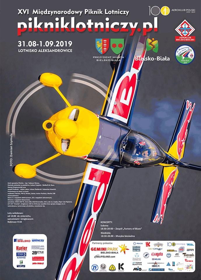 W weekend w Bielsku-Białej odbędzie się XVI Międzynarodowy Piknik Lotniczy