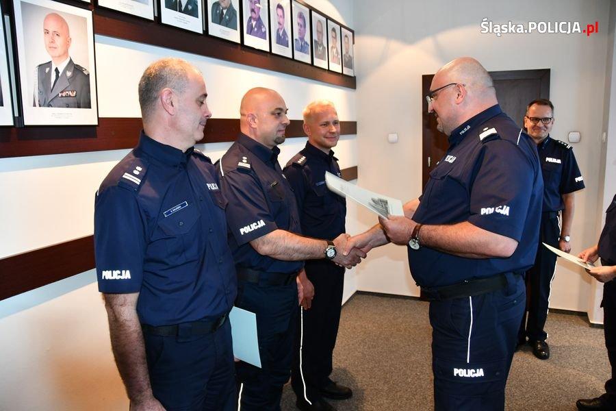 Zmiany na szczytach władzy bielskiej policji