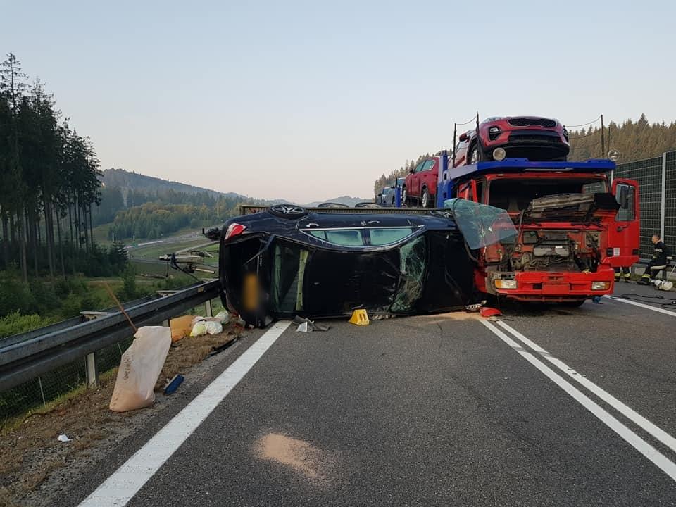 Fatalny wypadek na S-1, droga przez kilka godzin była zablokowana
