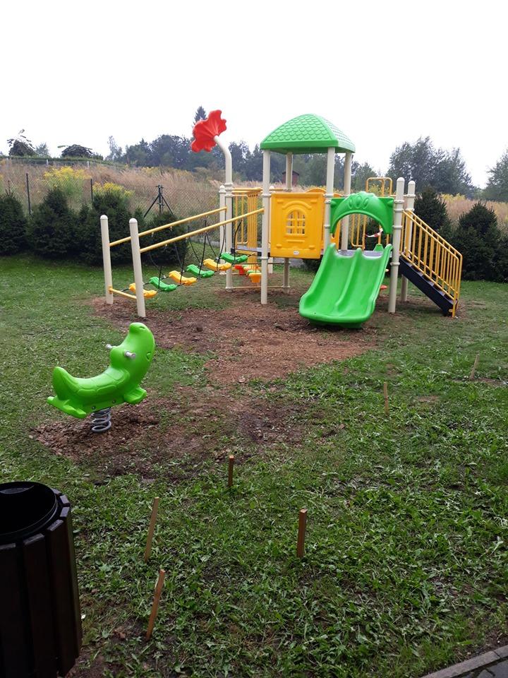Nowy plac zabaw to sukces wielu osób