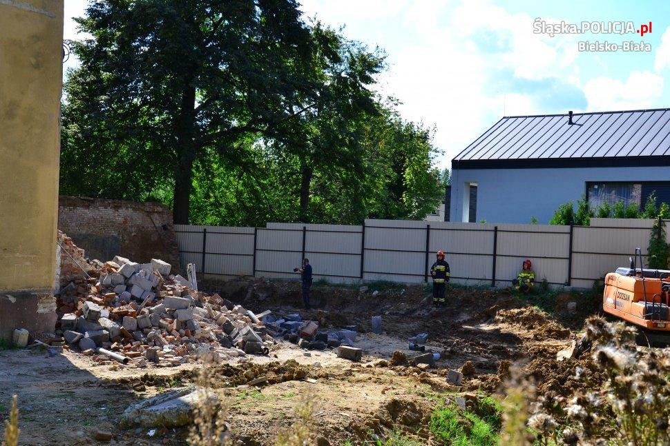 Zawaliła się kamienica w Bielsku-Białej [FOTO]