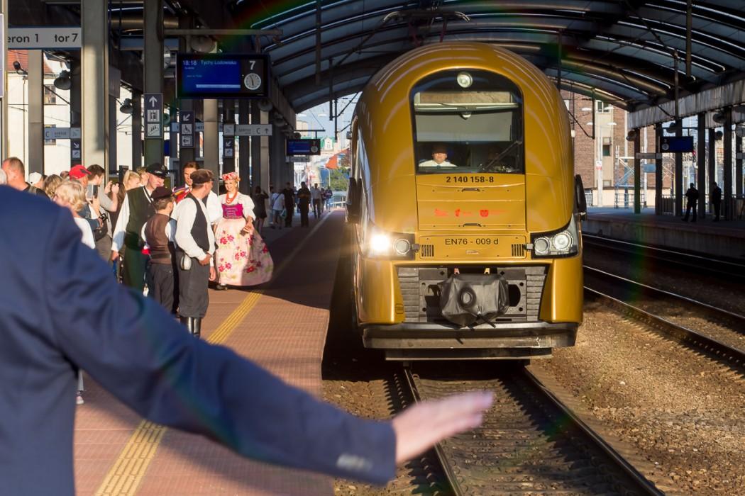 Mają swój złoty pociąg