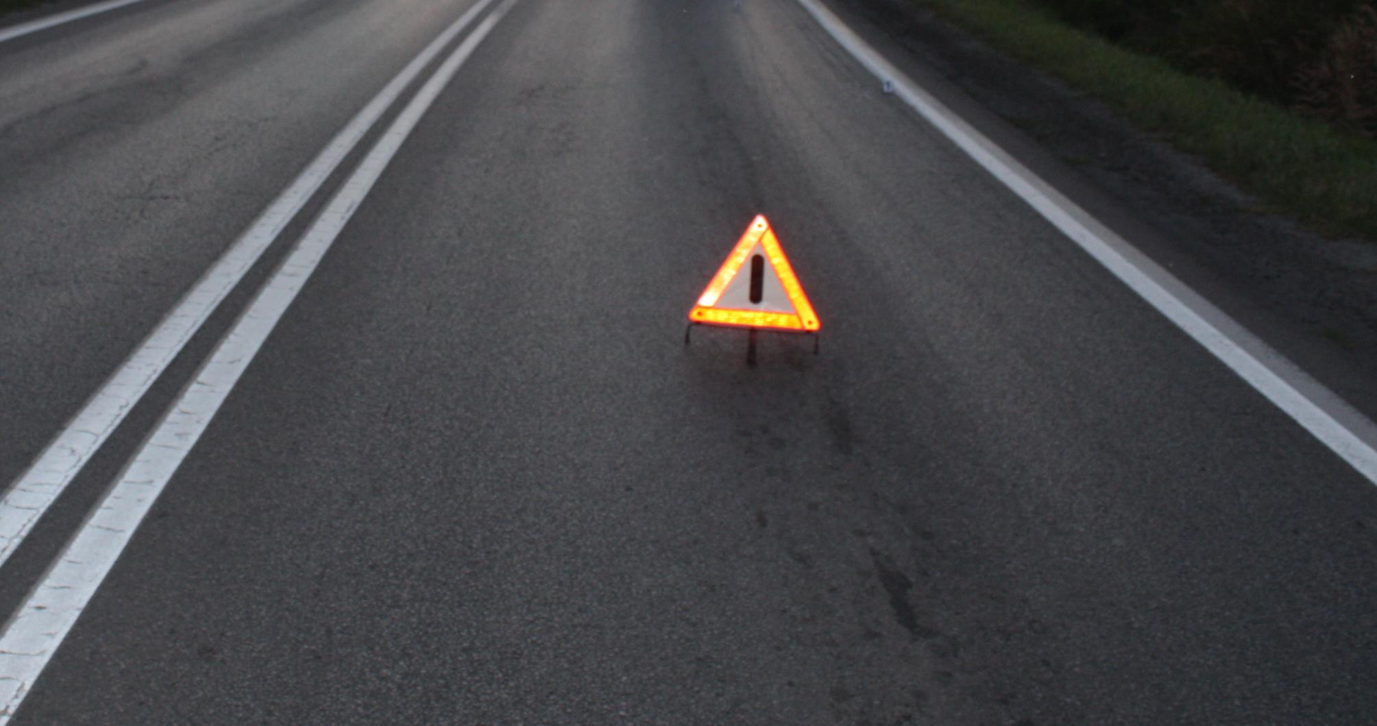 Seria wypadków na drogach