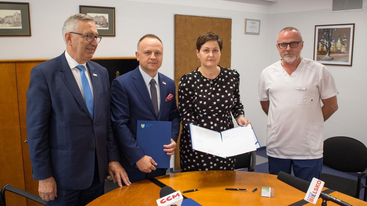 Bielski szpital otrzymał milion złotych!