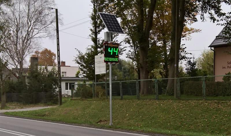 Wyświetlacze prędkości w Bielsku-Białej. Jaki dały efekt?