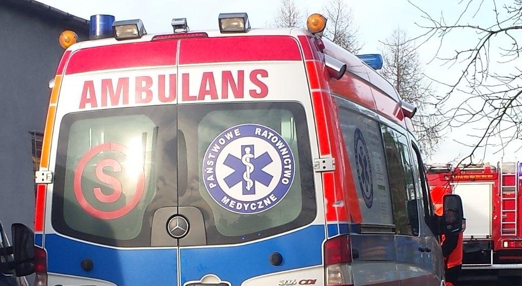 Dramatyczna akcja ratownicza po wypadku na Górskiej