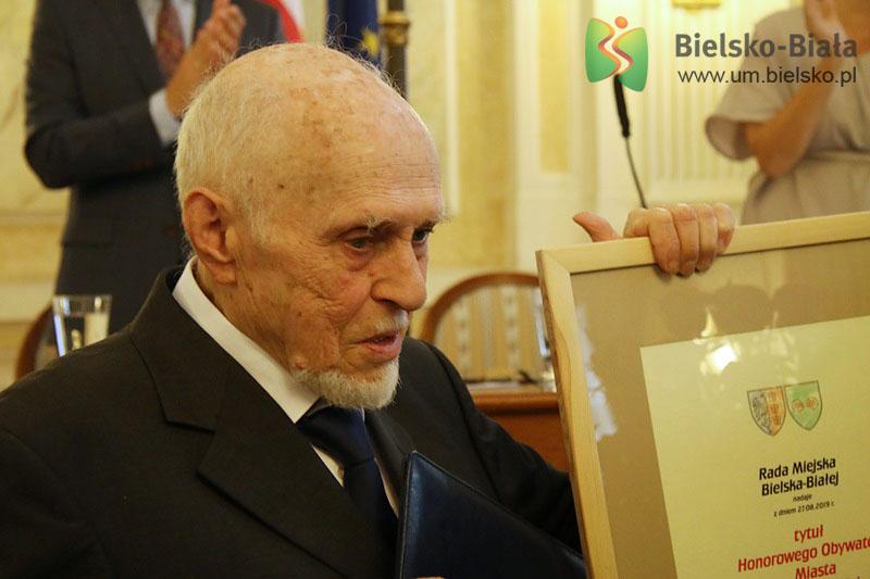 Twórca polskiego jazzu Honorowym Obywatelem Bielska-Białej