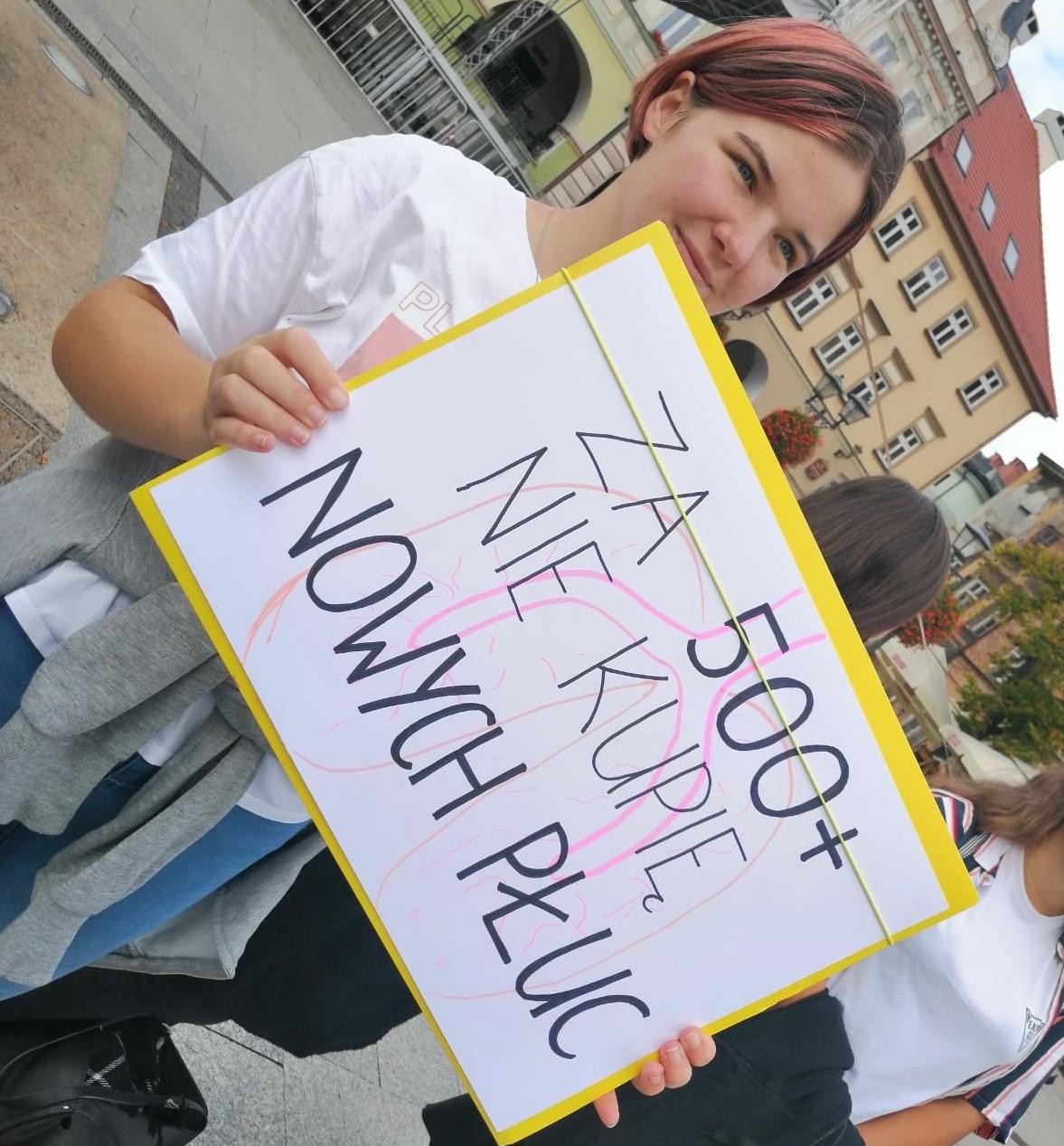 Bielska młodzież walczy o lepszy klimat [wideo]