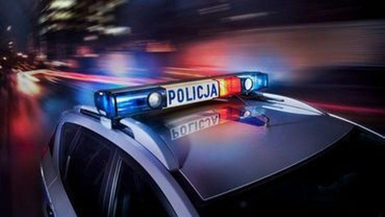 Poważny wypadek w Bielsku-Białej. Sprawców wytropił policyjny pies