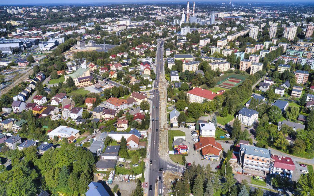 Na jakim etapie jest przebudowa ul. Krakowskiej i ul. Żywieckiej? [wideo]
