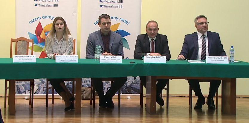 Debata wyborcza w Bielsku-Białej