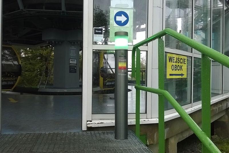 W Bielsku pojawią się eko-słupki. Zasygnalizują mieszkańcom jakość powietrza