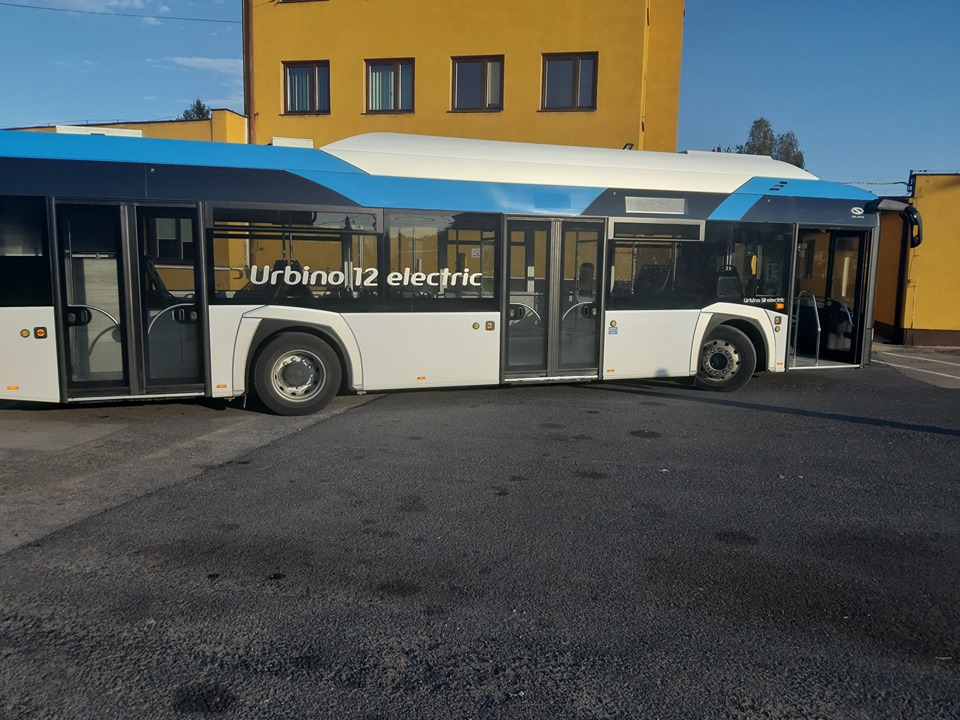 Pasażerowie MZK testują autobus elektryczny
