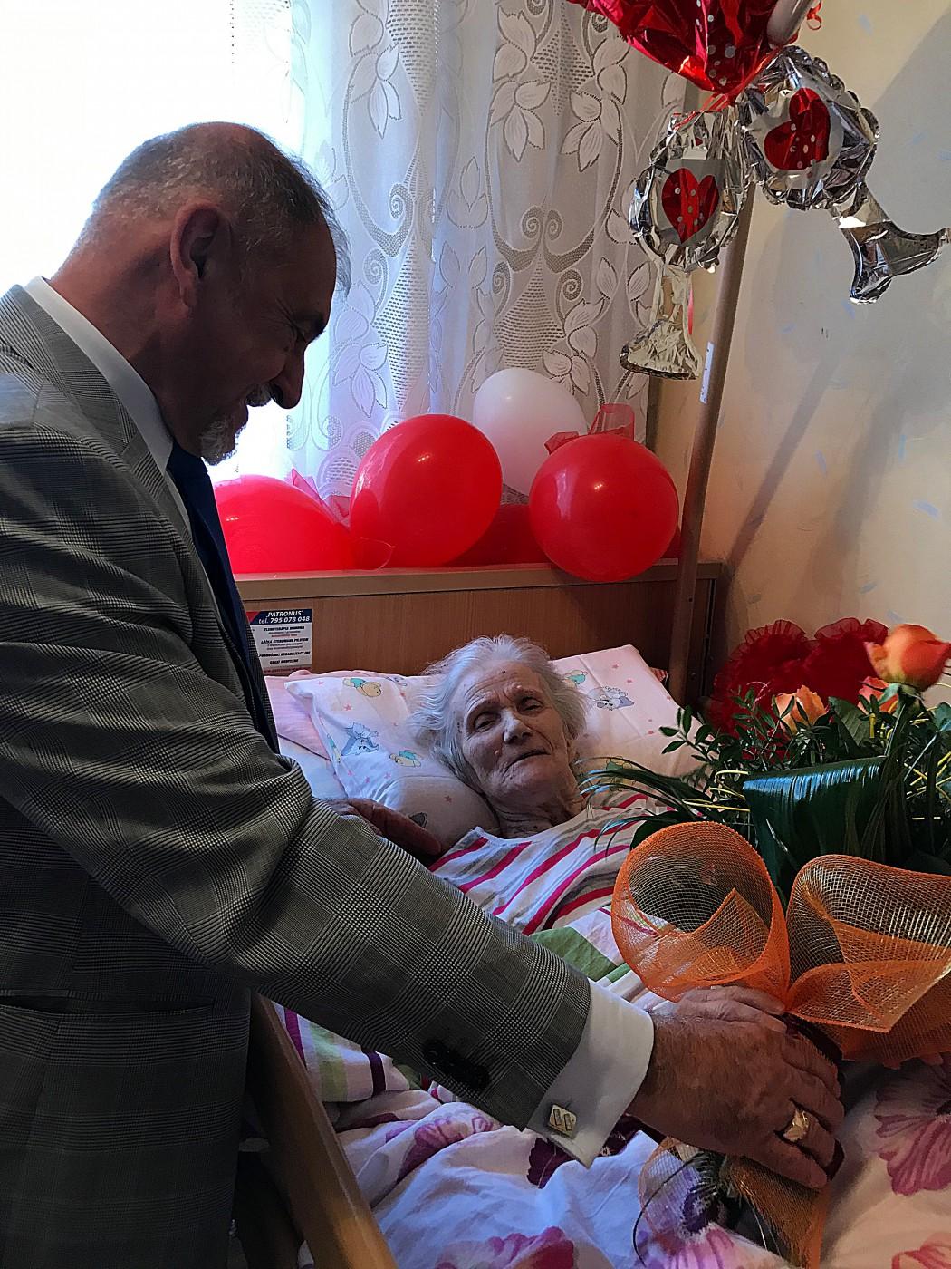 Pani Wiktoria skończyła 100 lat!