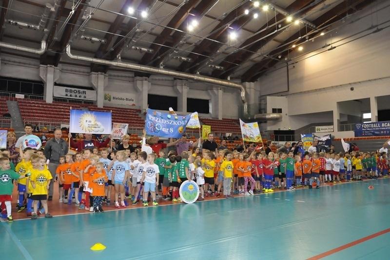 Przedszkoliada - sportowa rywalizacja na wesoło [foto]