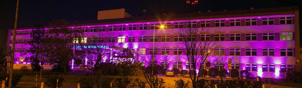 W niedzielę szpital zaświeci się na fioletowo!