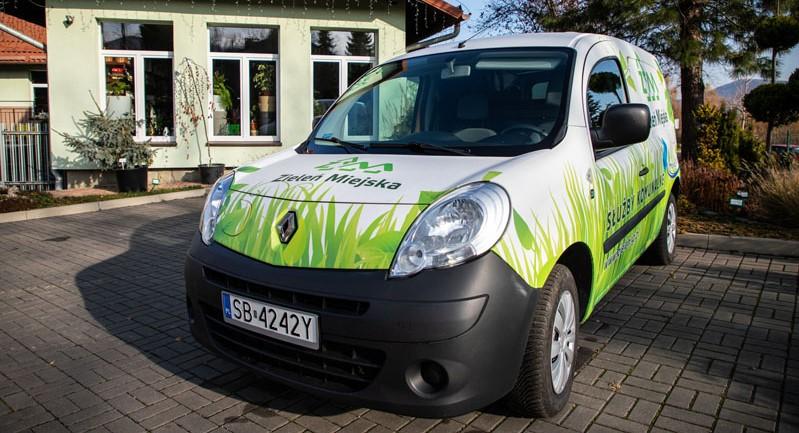 Miejska spółka kupiła samochód elektryczny