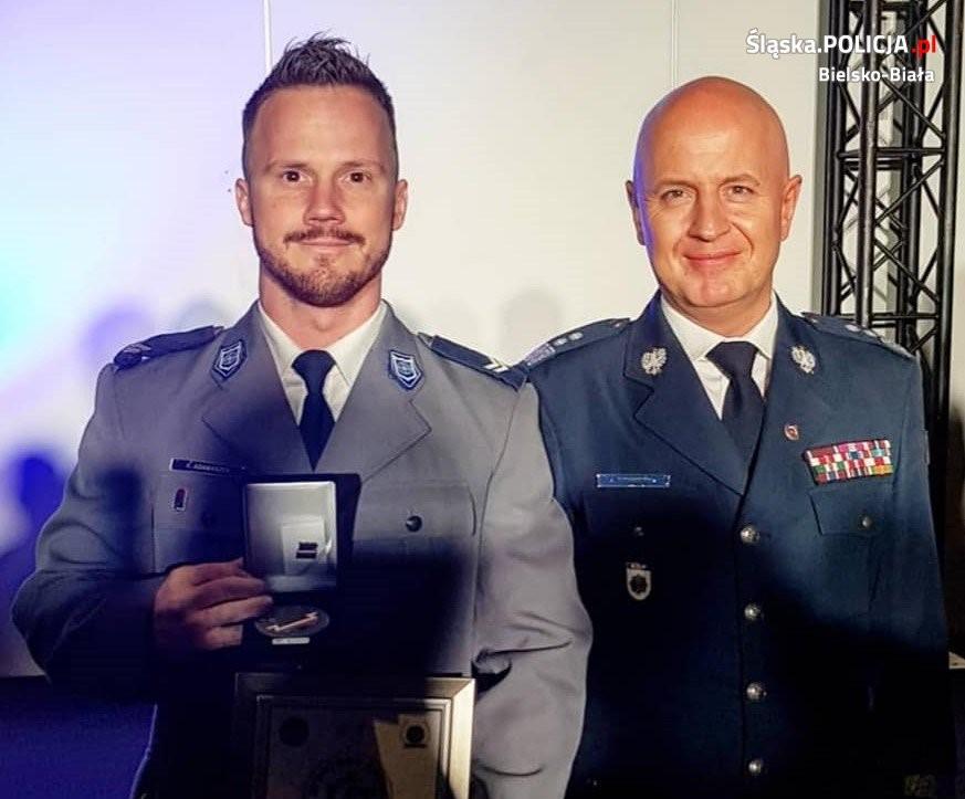 Mistrzowie w mundurach! Bielscy policjanci w setce najlepszych