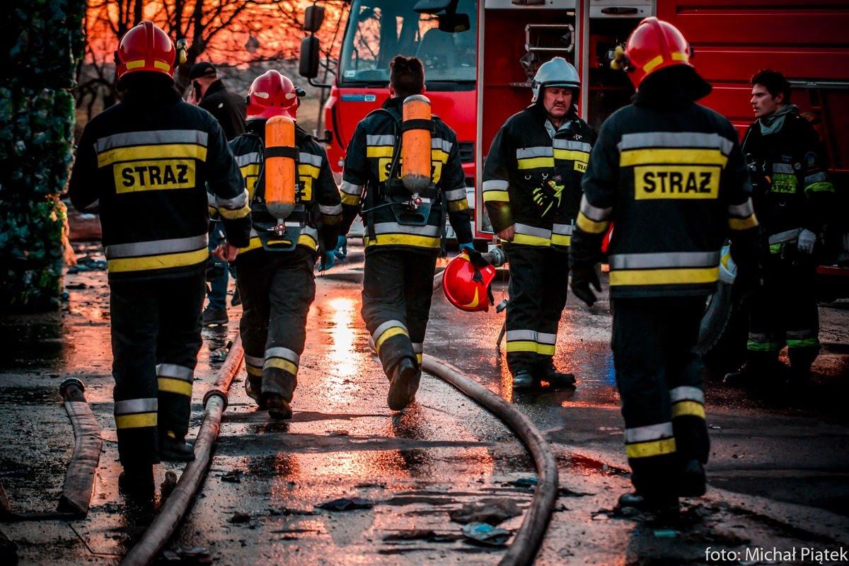 Tragiczny finał pożaru. Nie żyje mężczyzna