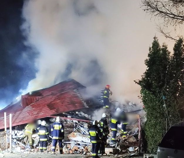 Katastrofa w Szczyrku. Po wybuchu gazu zawalił się budynek
