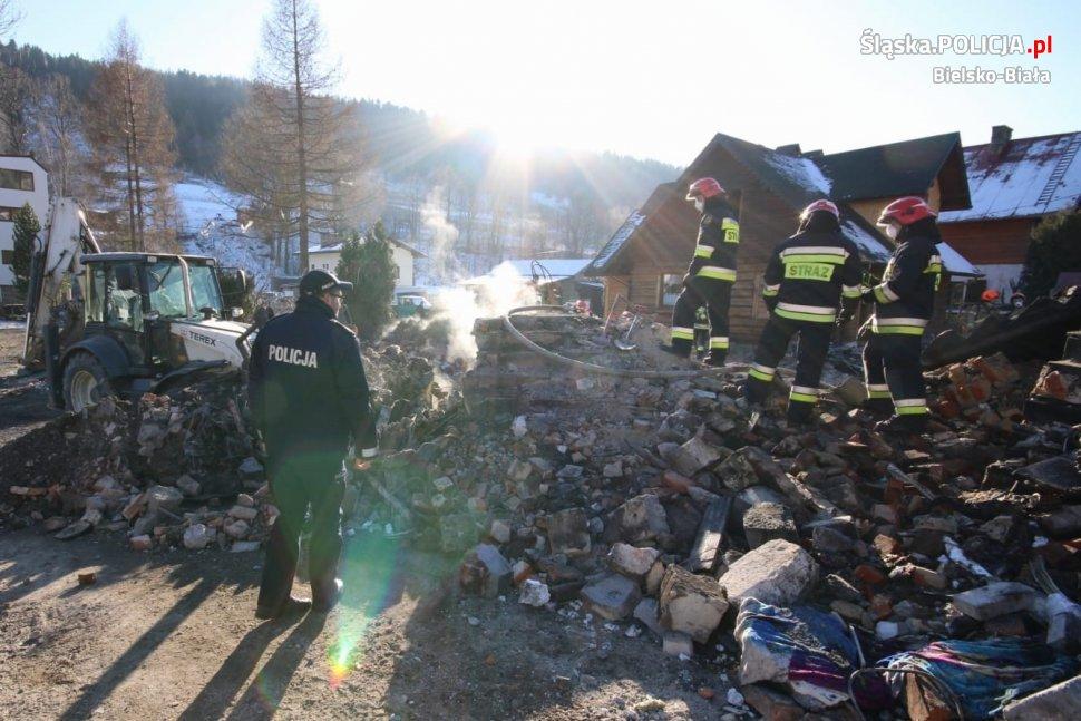 Akcja ratownicza w Szczyrku zakończona, prokuratura wszczyna śledztwo