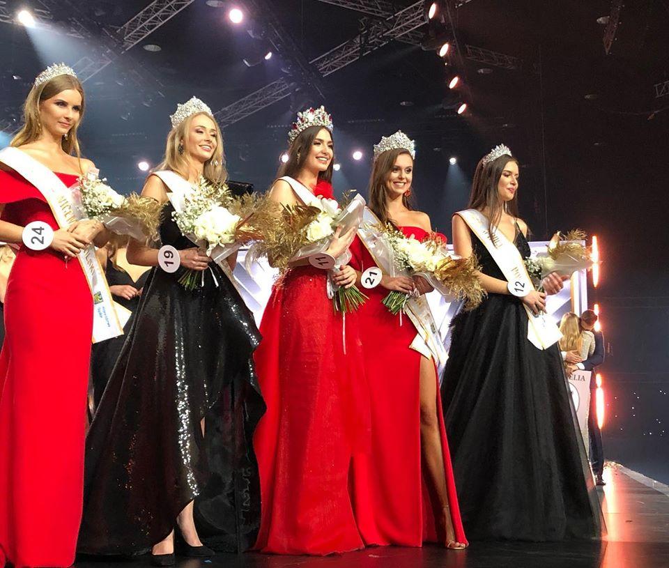 Miss Beskidów Magdalena Kasiborska została wybrana Miss Polski 2019!