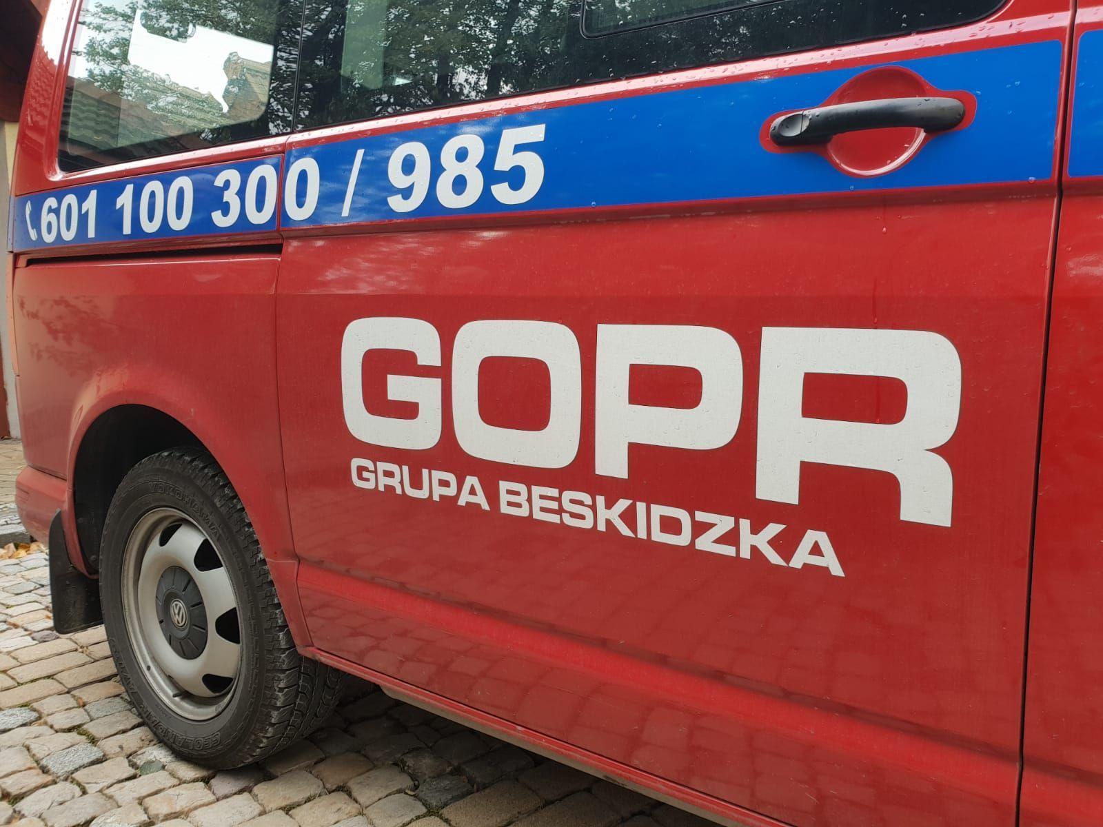 Trzy akcje ratownicze GOPR. Ratownicy pomagali rowerzystom