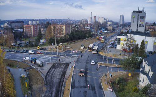Bielsko: wraca ruch dwukierunkowy na ul. Krakowskiej