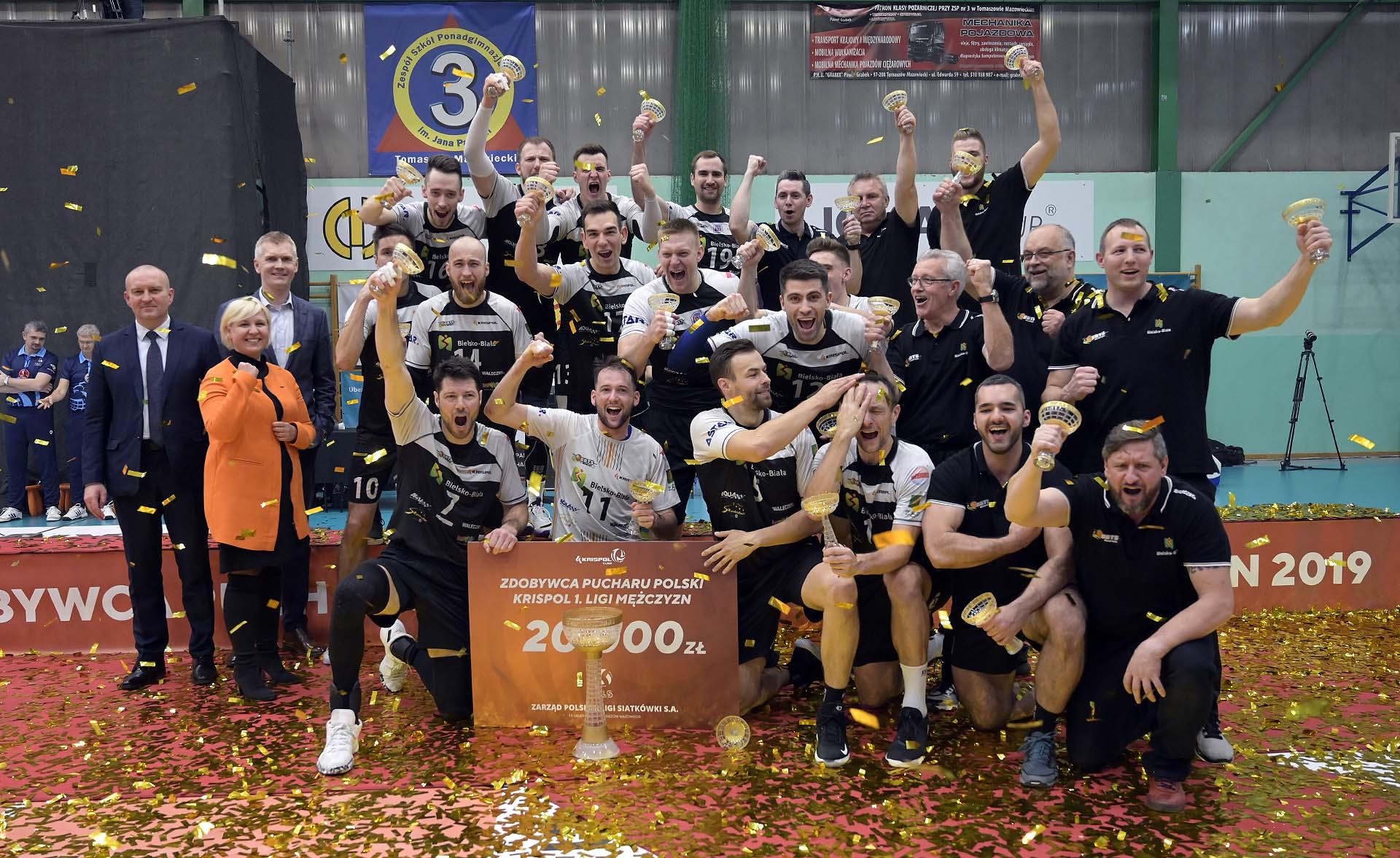 Puchar Polski dla bielskiej drużyny