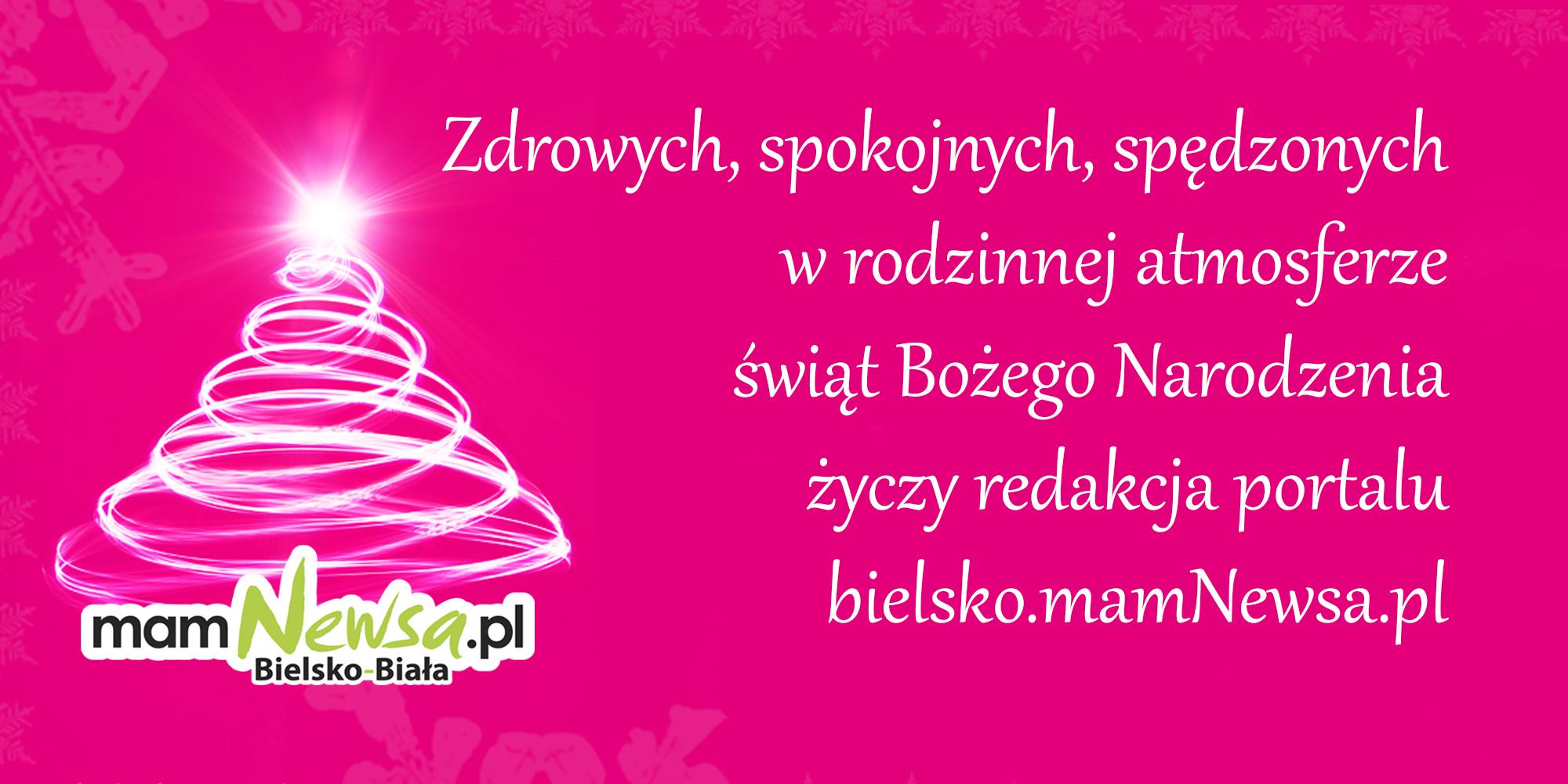 Wesołych Świąt życzy portal bielsko.mamNewsa.pl!