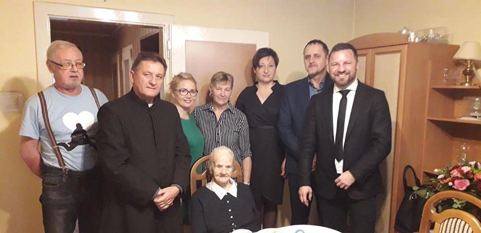 W przeddzień Wigilii pani Maria obchodziła 103. urodziny!