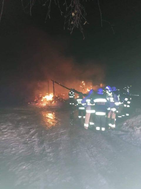 Spłonął domek na Potrójnej