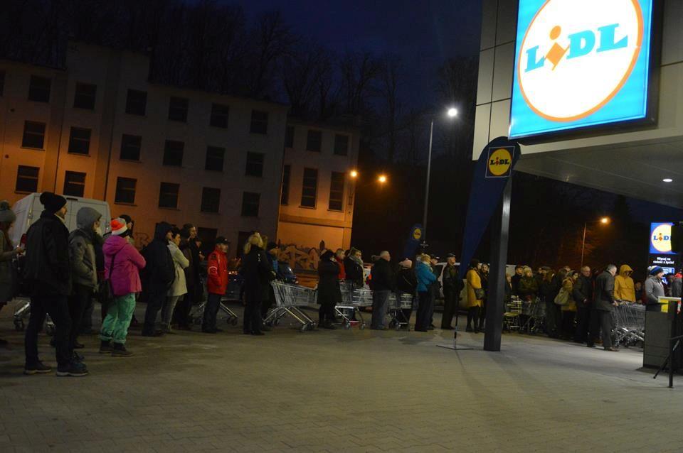 Nowy LIDL w Bielsku-Białej otwarty [FOTO, VIDEO]