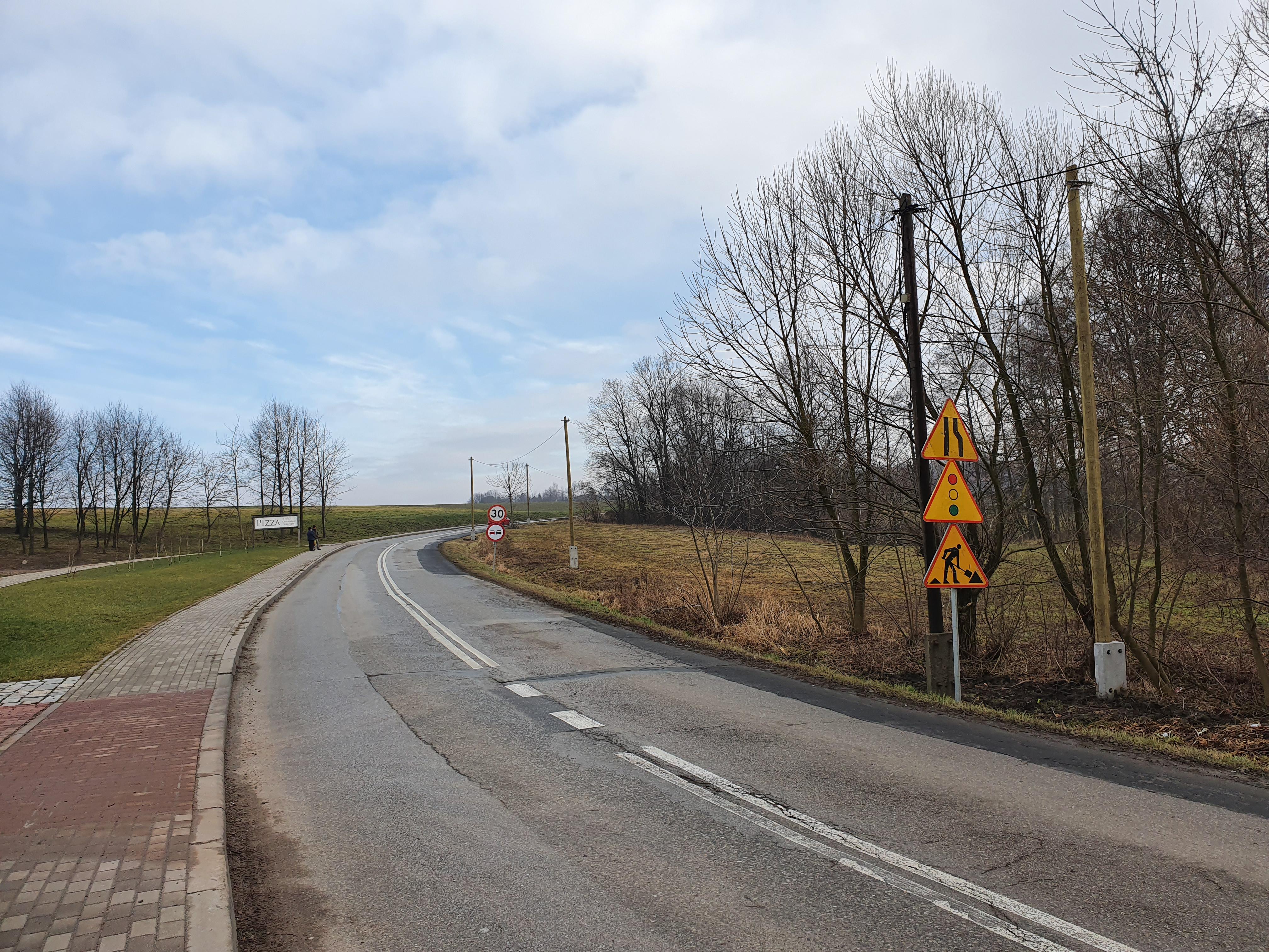 4,5 mln unijnej dotacji na remont 2,5 km drogi