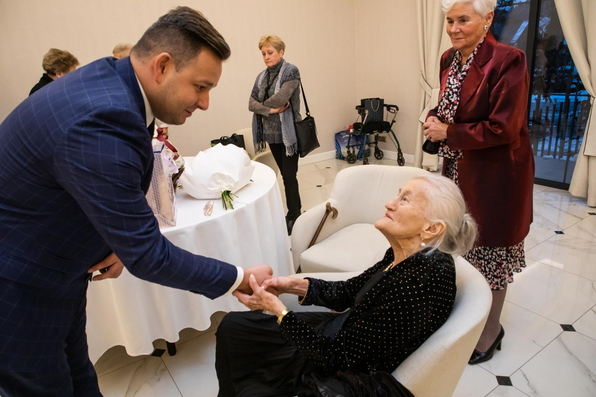 100. urodziny Johanny Krumpholz