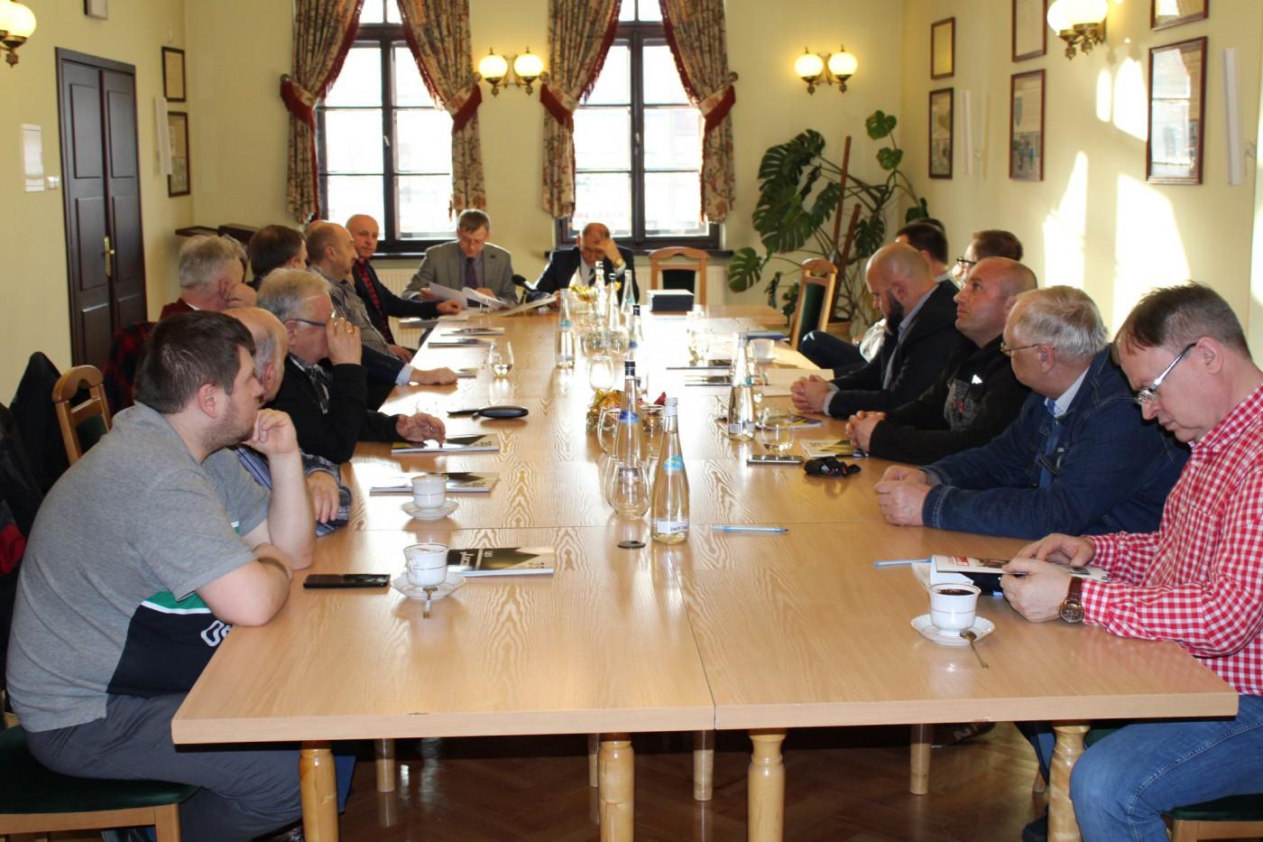 Pierwsze posiedzenie Rady Sportu