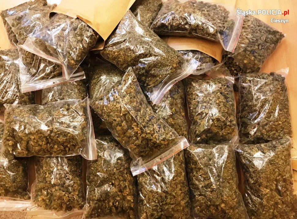Przemyt znacznej ilości narkotyków udaremniony przez policjantów