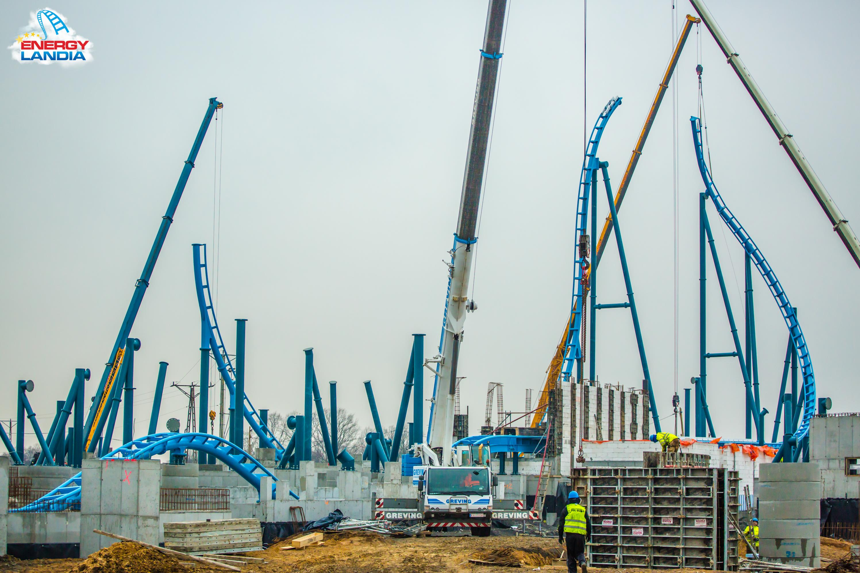 Abyssus - nowy roller coaster w Energylandii