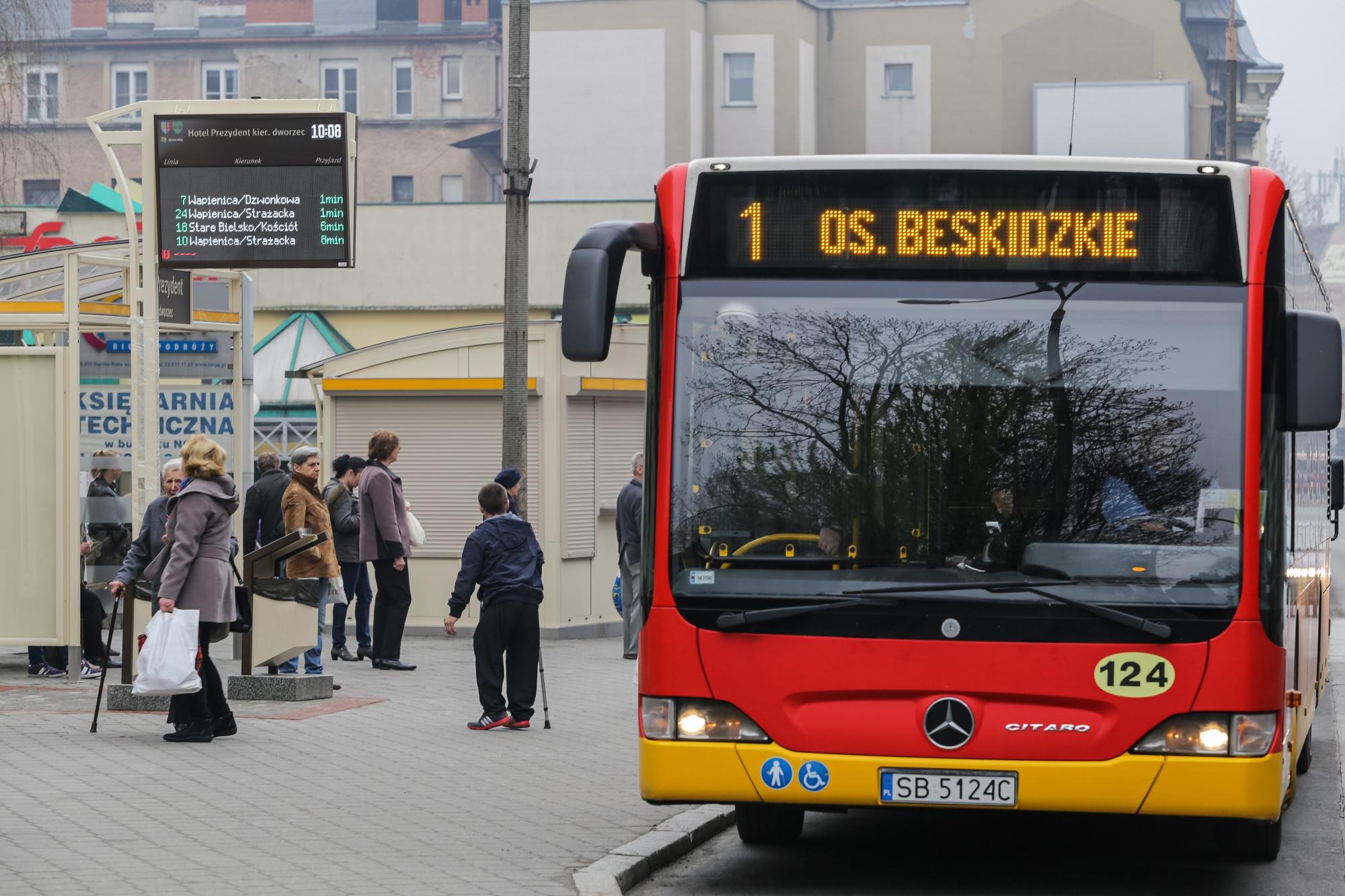 Od poniedziałku zmiany w bielskich autobusach