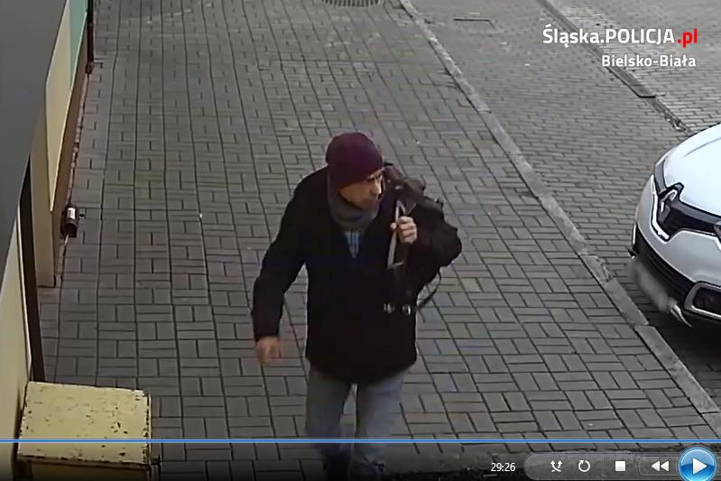Bielska policja poszukuje fałszywego policjanta