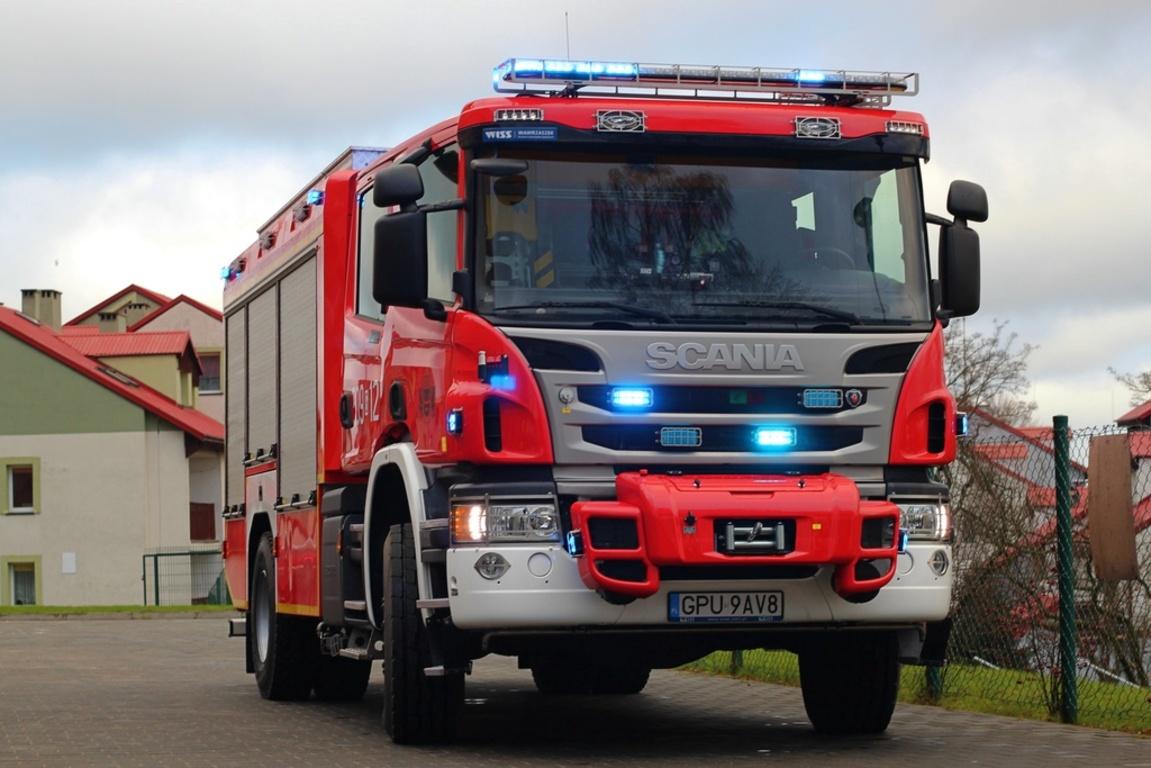 Powiat wspiera Straż Pożarną