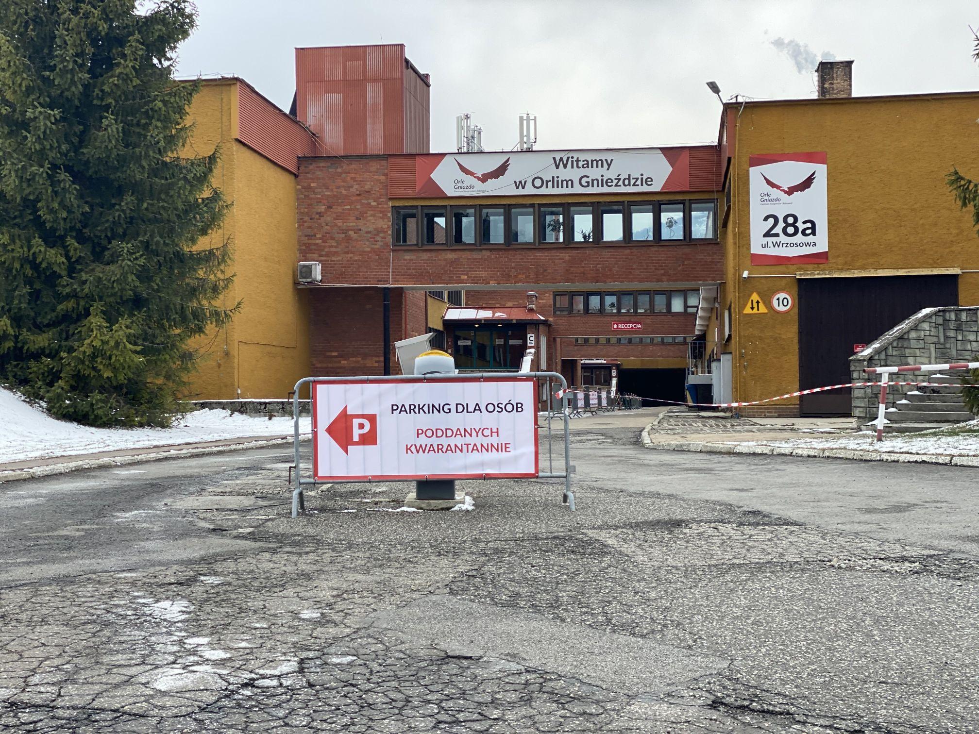W Szczyrku uruchomiono ośrodek kwarantannowy