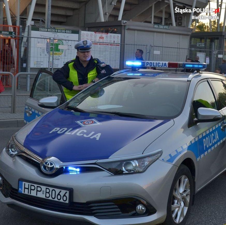 Naczelnik bielskiej drogówki zatrzymał pijanego kierowcę