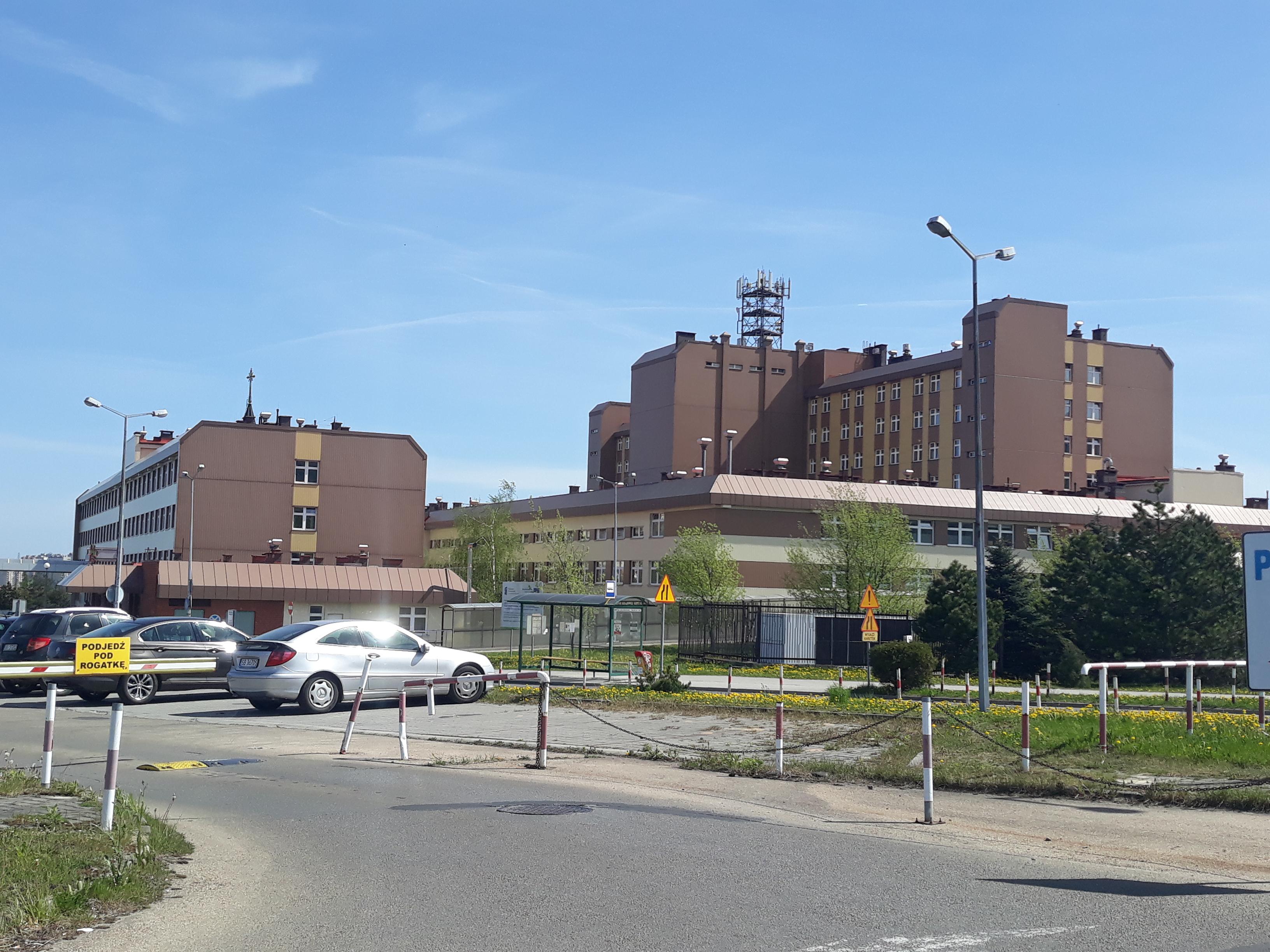 Przez koronawirusa zamknięty oddział w Szpitalu Wojewódzkim