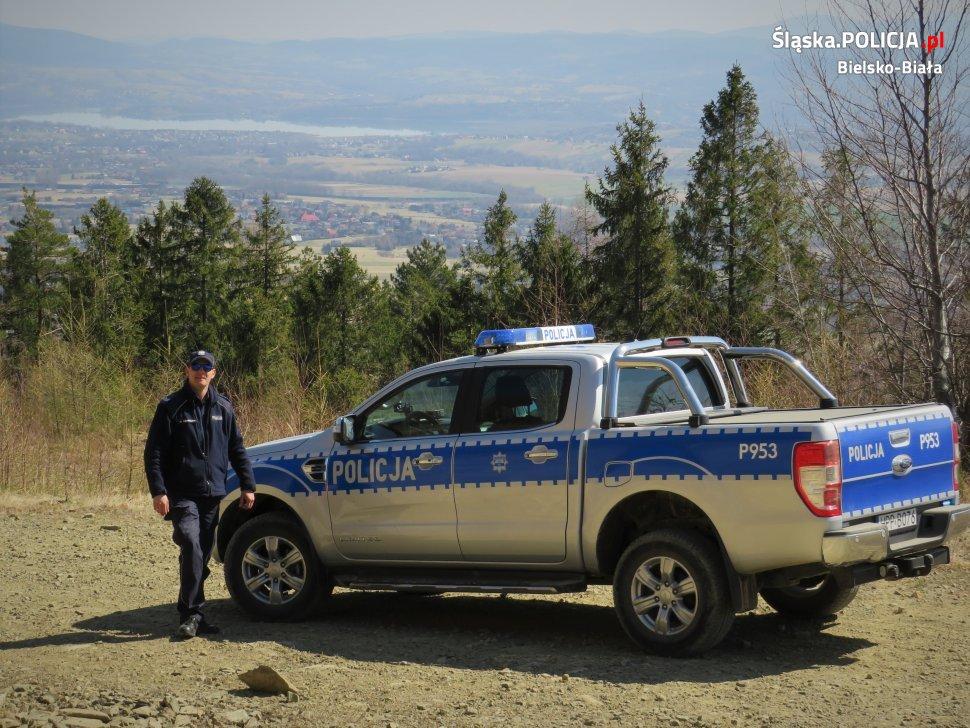 Akcja policji i innych służb nad rzekami i w górach