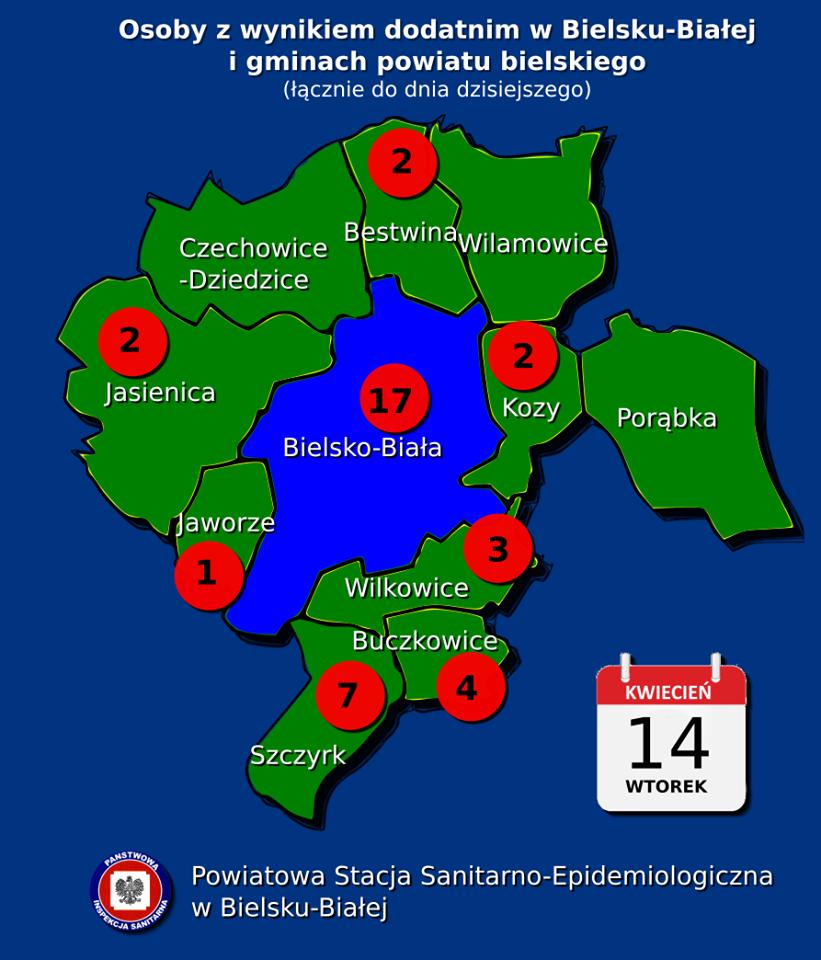 41 nowych chorych na Covid-19 w województwie śląskim